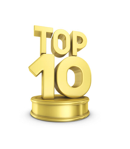 Top 10 Electronic Decisions in 2010