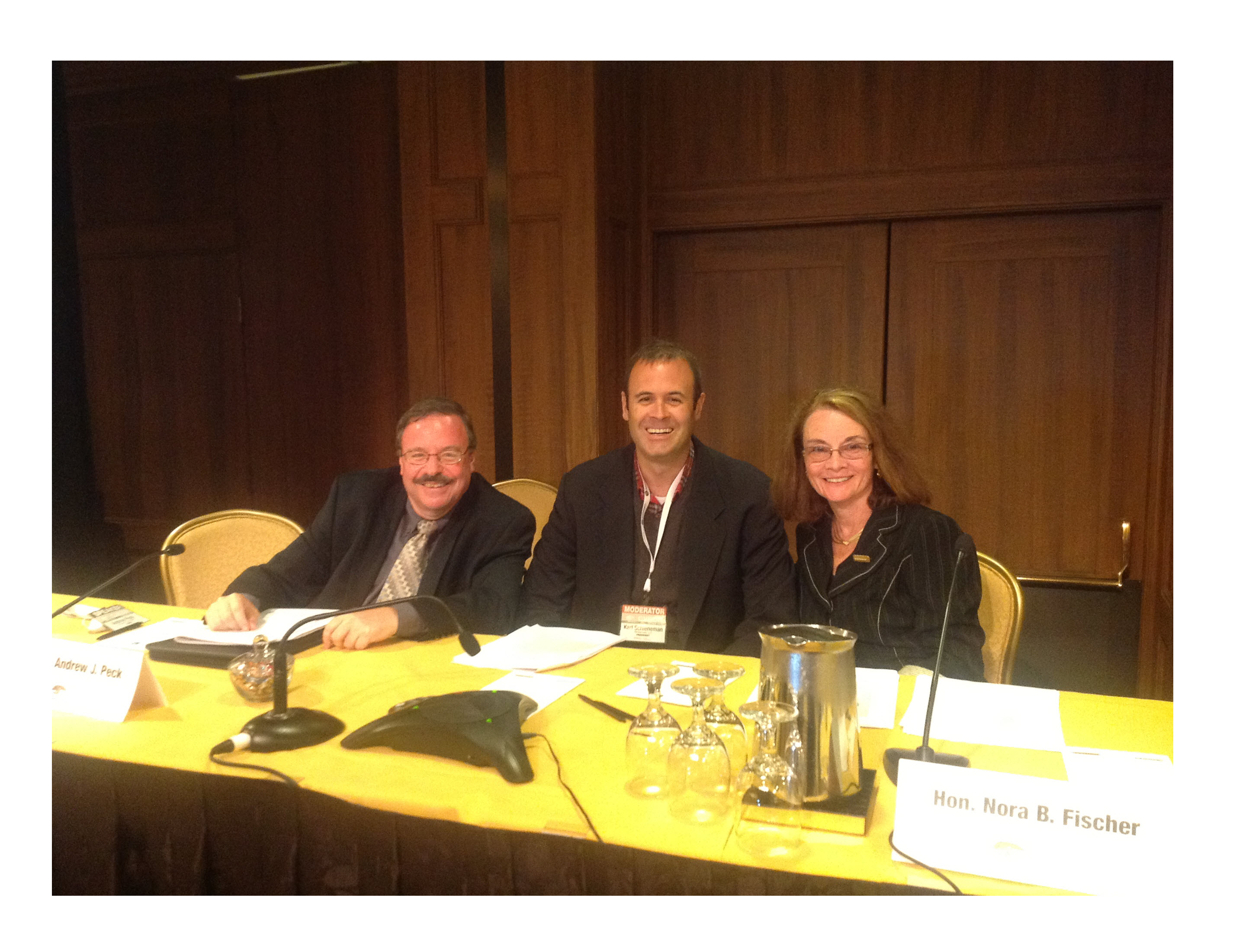 Carmel Valley E-Discovery Judicial Panel on Predictive Coding
